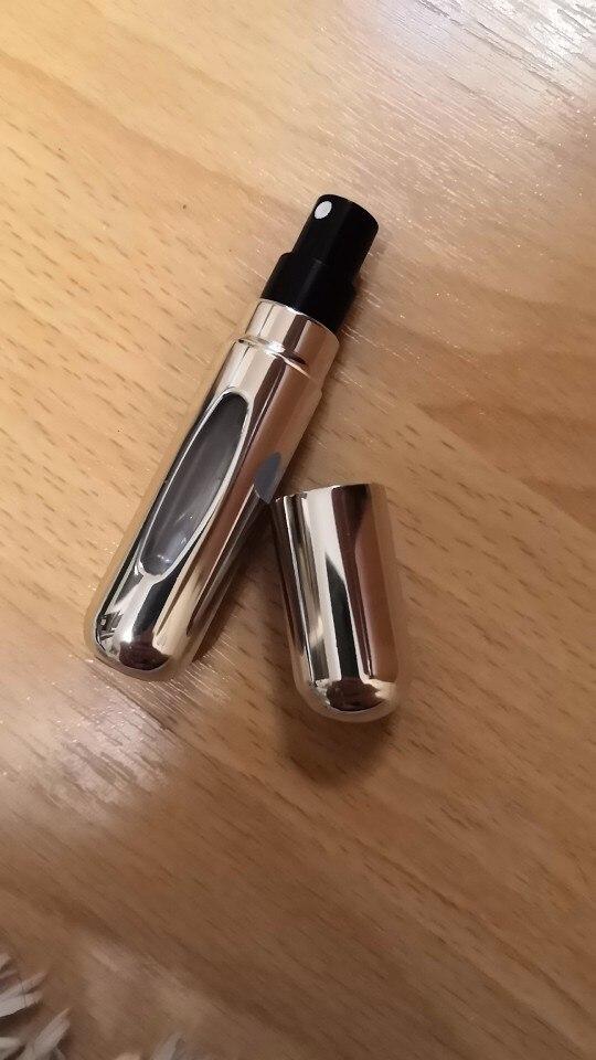 Atomizador de Perfume recargable de botella pulverizador de bolso