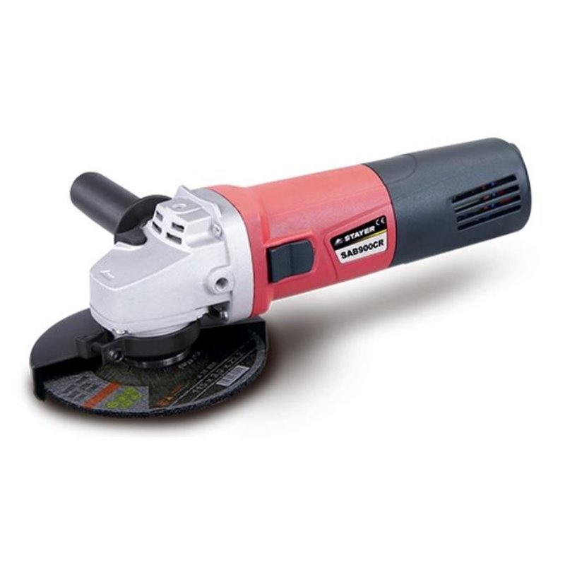 115MM ANGLE GRINDER 900W SAT 900CR + NUT + 10D + 2DD STAYER