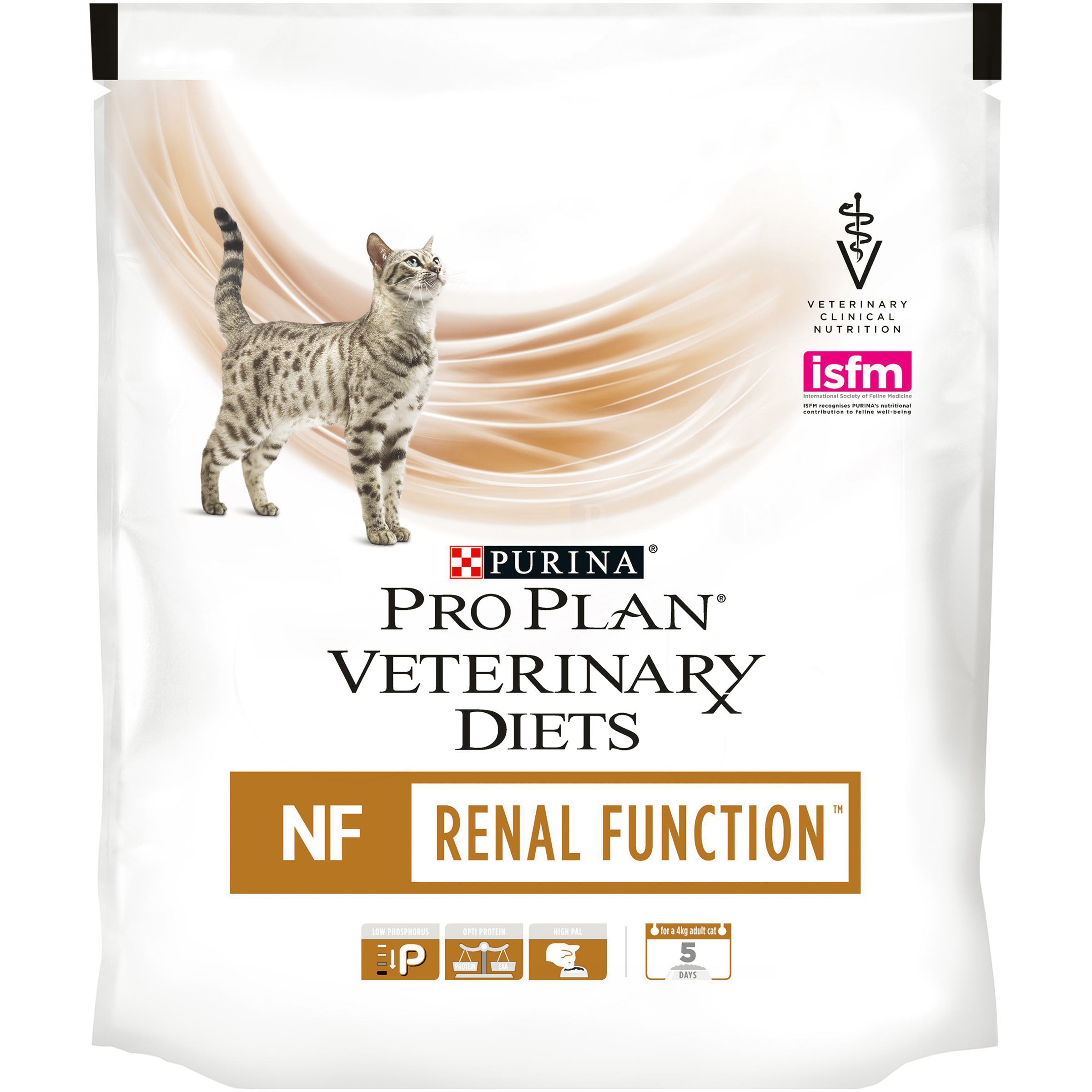 Set of dry food Pro Plan Veterinary diets NF cat food for kidney pathology, 6 packs of 350 g anatomic model of kidney pathological model of kidney