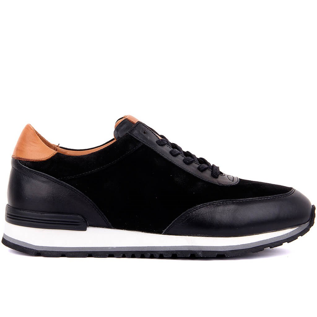 Sail Lakers-Genuine Leather Men Casual Shoes Breathable Fashion Sneakers Lace-Up Man Shoes Tenis Masculino Shoes Zapatos Hombre Sapatos Outdoor Shoes Size 40-44