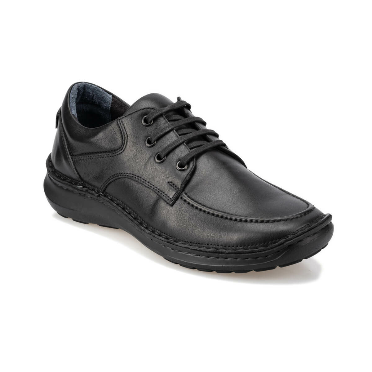 FLO 92.100900.M Black Male Shoes Polaris 5 Point