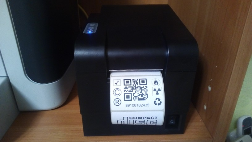 wholesale brand new thermal bar code QR code label printer high quality clothing tags supermarket price sticker printer|label printer|price label printer|sticker printer - AliExpress