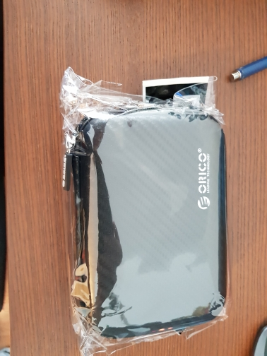 ORICO 2.5 Hard Disk Case Portable HDD Protection Bag for External 2.5 inch Hard Drive Earphone U Disk Hard Disk Drive Case Black reviews №4 144271