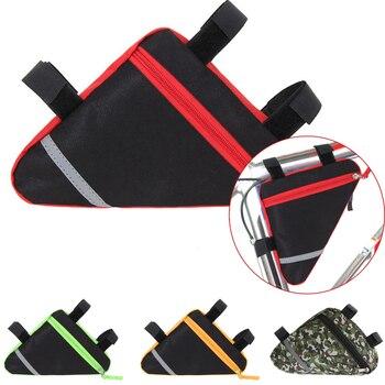 Bolsa de tela para bici alforjas para bicicleta ajustables a sillin mochila...