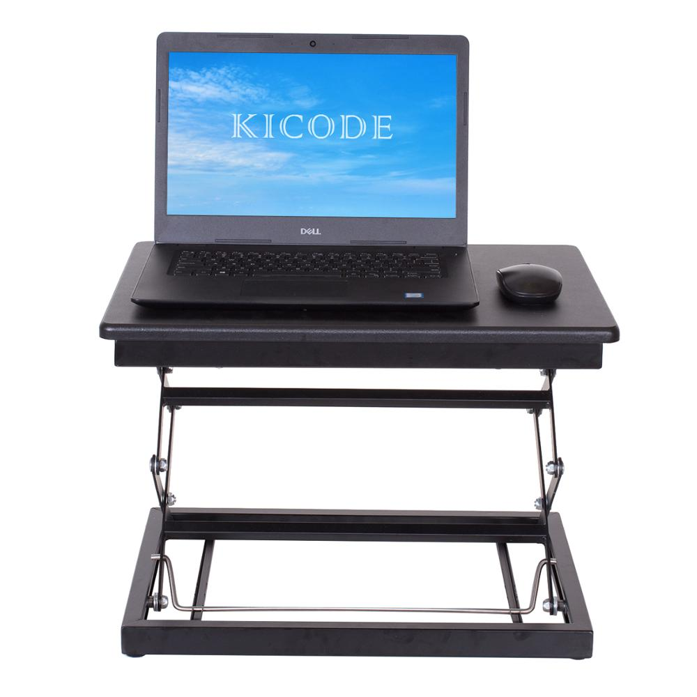 Height Adjustable Laptop Desk Stand Laptop Table Stand Up Table Standing Desk Healthy Working Table