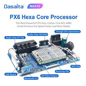 "Image 4 - Dasaita 9"" IPS Car Multimidia Android 10.0 for Subaru Forester WRX 2008 2009 2010 2011 2012 Radio GPS Navigation TDA7850 MAX10"