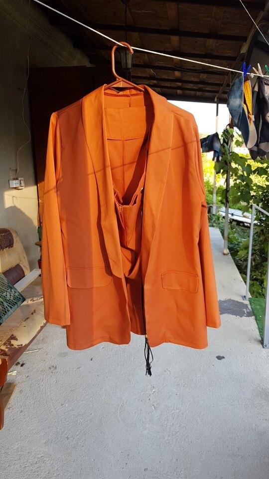 2019 New Fashion Women Formal Blazer Long Sleeve Maroon Ladies Retro Coat Female Pockets Blazer Work Office Business Suit D30 reviews №1 22631