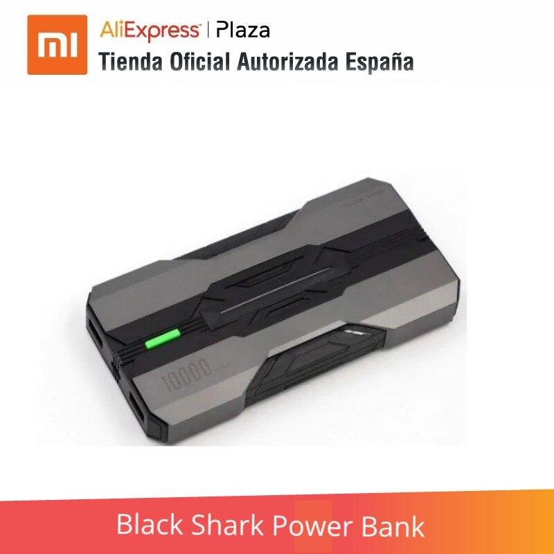 Black Shark Power Bank  (10.000 Mah, Carga Bidireccional Y Rápida Hasta 18W)