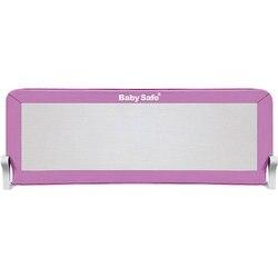 Barrier for Baby crib Safe 120х66, pink