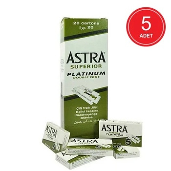 Astra Platinium Shaving Razor 5x20 PCs