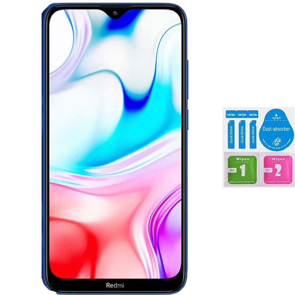 Protector Screen Tempered Glass For For XIAOMI REDMI 8 (Generico, Not Full SEE INFO) KIT