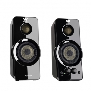 Woxter Big Bass 95 - Altavoces Multimedia Estéreo, 20W