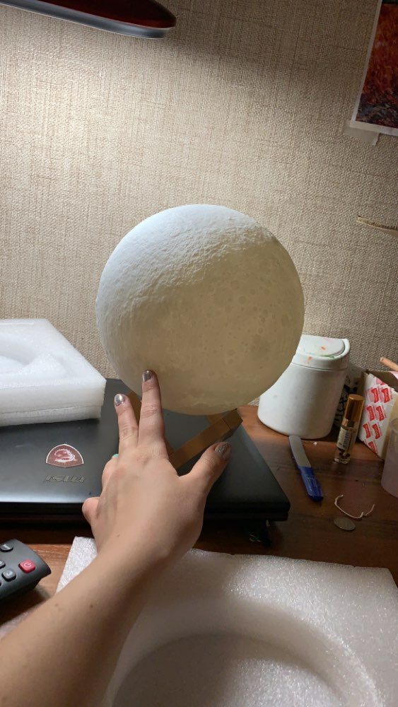 Ultimate Multicolours Moon Lamp 15CM photo review