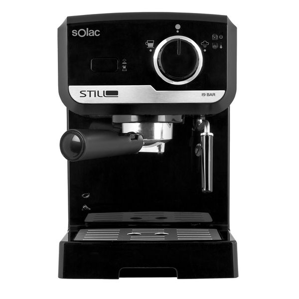 Express Manual Coffee Machine Solac CE4493 Stillo 1,2 L 1140W Black