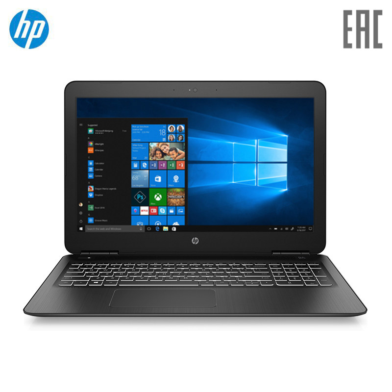Laptop HP Pavilion Gaming 15-dp0020ur Black (Core I5 8300 H/8 GB/1 TB/128 GB SSD/1060 3 GB/W10) (7BJ98EA)