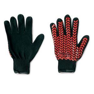 Sparco Prensili Cotone Motorcycle gloves Black