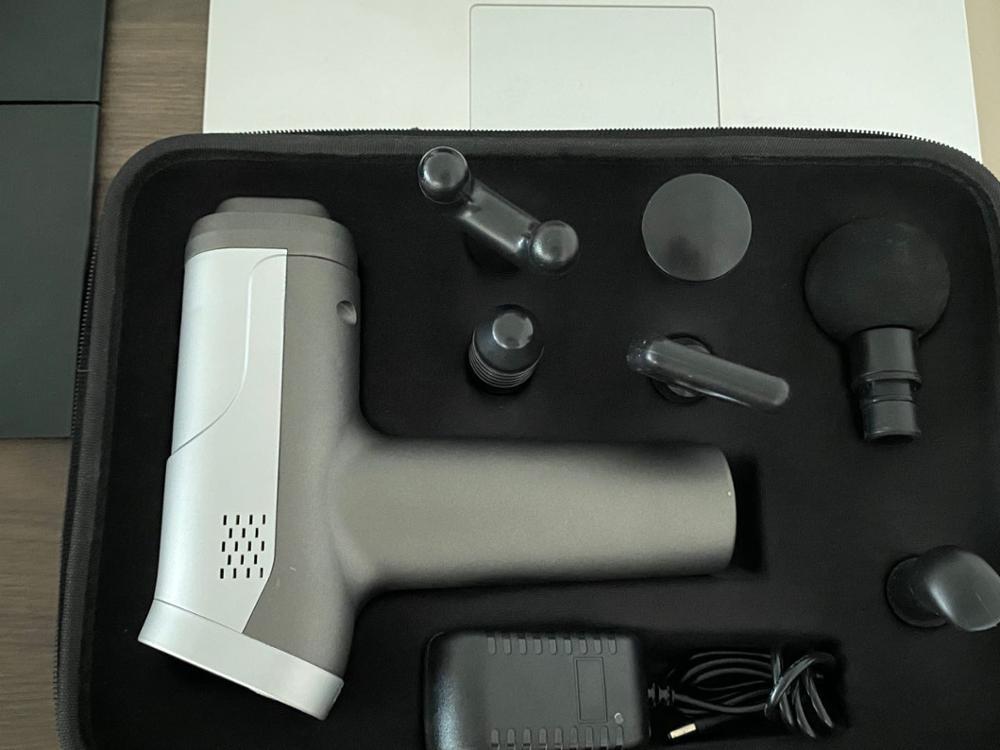 Massage Gun Fascia Gun Neck Massager Vibration Fitness Equipment Noise Reduction Design Electric Massager Relax Muscle