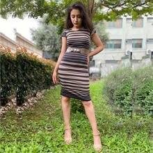 Kadın Elbise 2020 İlkbahar Yaz Yeni Kolleksiyonu Sokak Ofis Elbisesi likralı dar elbise