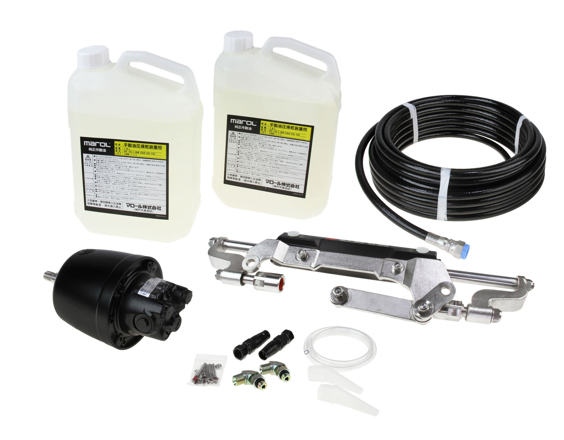 Hydraulic Steering System From 200 To 300 Hp C38MZ