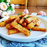 咸蛋黄焗山药~完爆薯条!的做法图解16