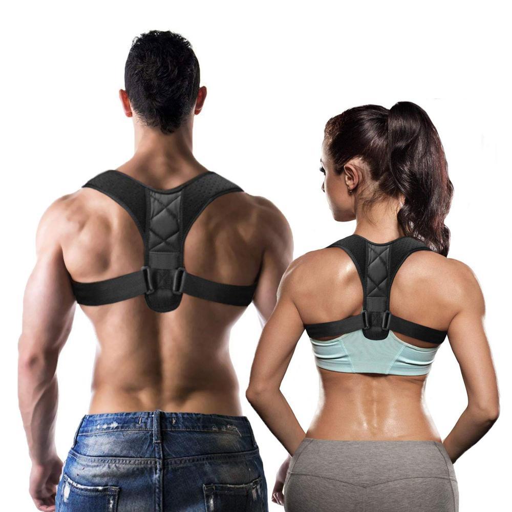 Dropshipping--Medical Clavicle Posture Corrector Adult Children Back Support Belt Corset Orthopedic Brace Shoulder Corrector