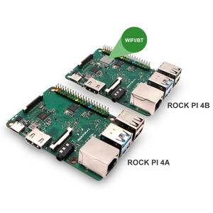 Image 5 - روك بي 4A V1.4 Rockchip RK3399 معالج أي آر إم كورتكس ستة الأساسية SBC/لوحة كمبيوتر واحدة متوافقة مع الرسمي التوت بي العرض