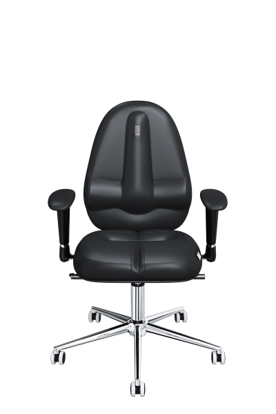 Office Chair KULIK SYSTEM CLASSIC Black Computer Chair Relief And Comfort For The Back 5 Zones Control Spine