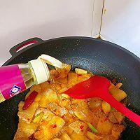 此季节最馋人的㊙️五花肉炖萝卜白菜的做法图解6
