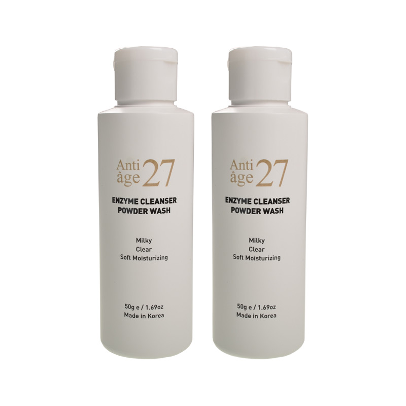 Face Cleanser-Antiage27 Enzyme Cleanser Powder Wash [1+1] Natural Sensitive Skin Moisturizing Face Care Skin Care Korea Cosmetic image