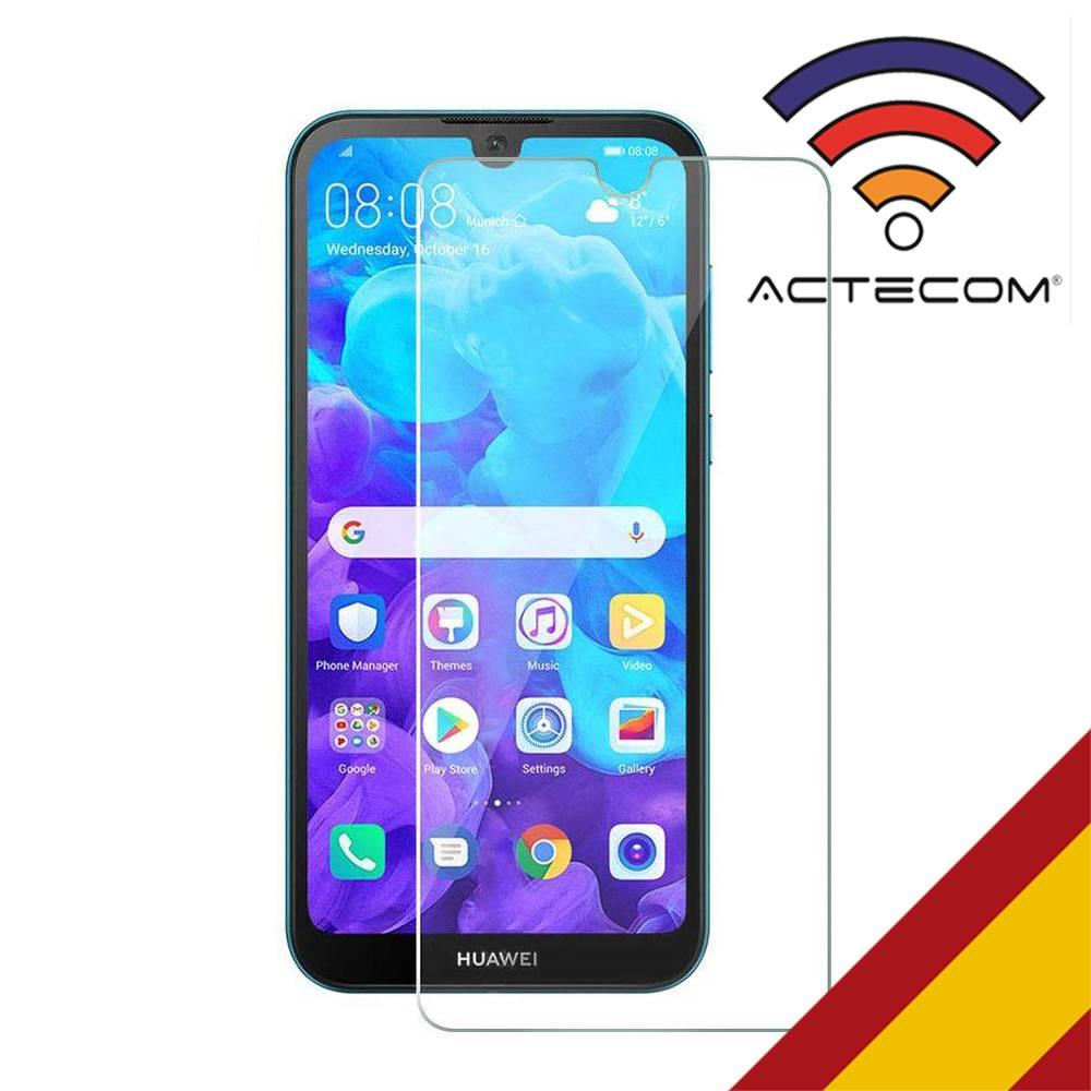 ACTECOM Cristal Templado Huawei Y5 2019 Protector Pantalla Huawei Y5 2019