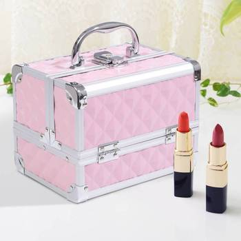 Case Makeup Organizer Cosmetics Professional 20x15x15cm