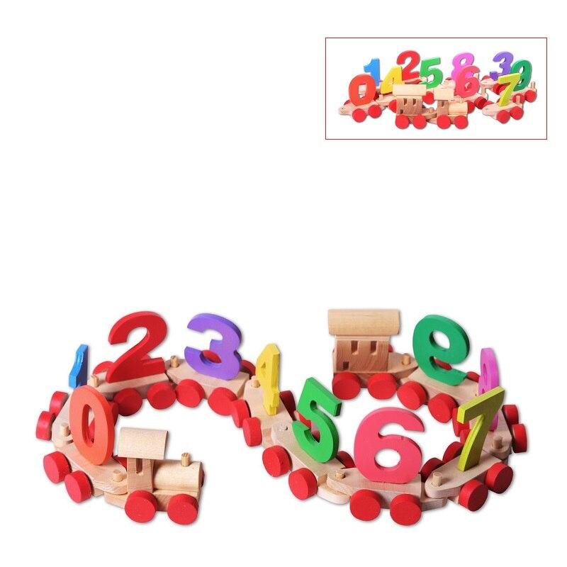 Triagem, nidificação & empilhamento brinquedos paremo trem de madeira com números no pacote de madeira para meninos e meninas educacional sorter forma surter brinquedos de corrediça de cadeira de rodas para crianças para o jogo das crianças