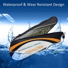 PU Oxford Cloth Badminton Racket Ball Bag Single Shoulder Diagonal Waterproof Squash Storage Backpack Sport Training Cover Youth