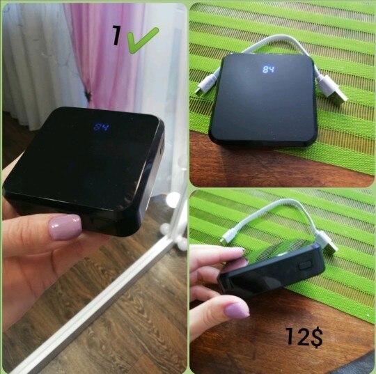 20000mAh Portable Mini Power Bank Mirror Screen LED Display Powerbank External Battery Pack Poverbank For Smart Mobile Phone Power Bank    - AliExpress