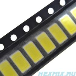 SMD LED 5730 cold белый-100 PCs