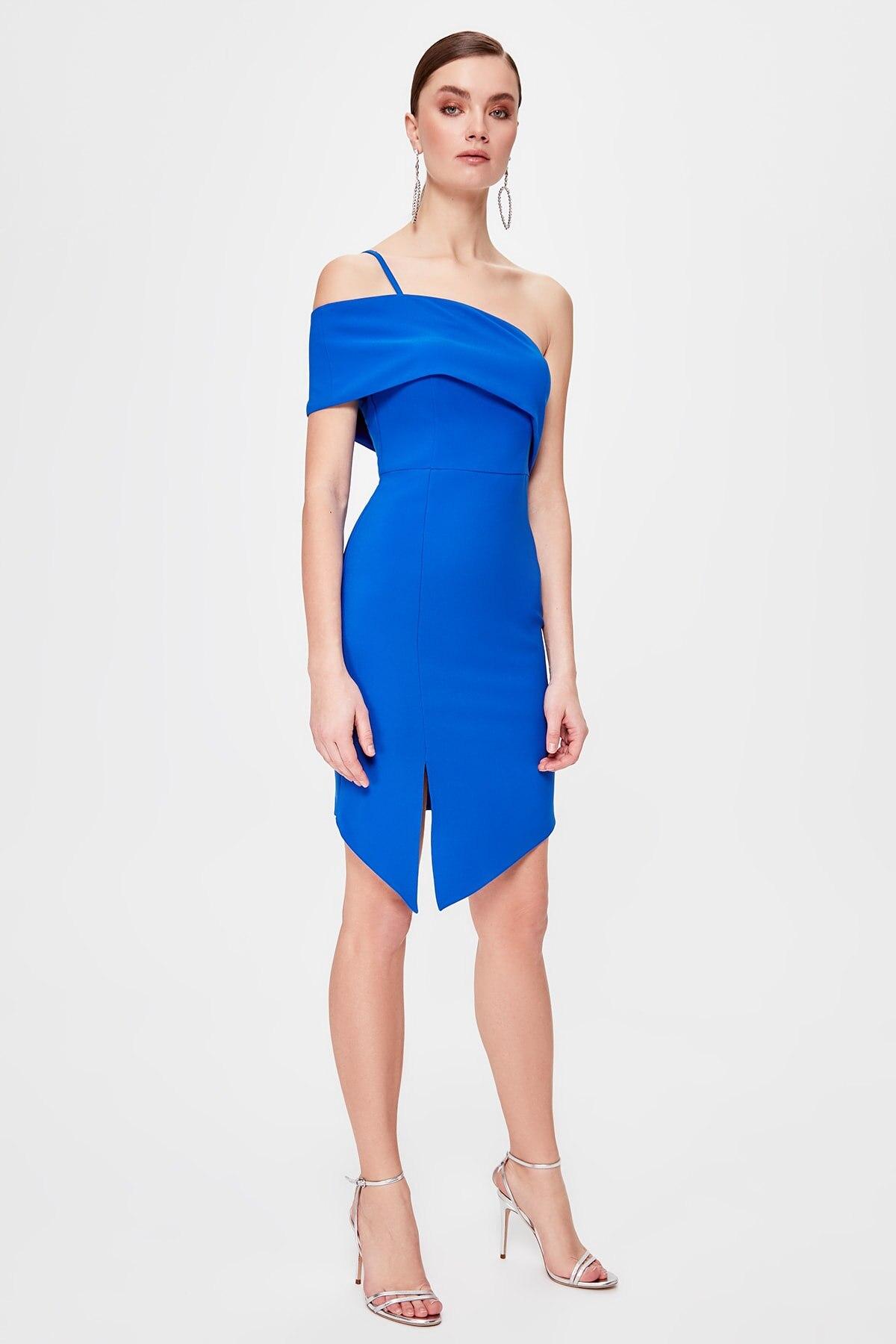 Trendyol Shoulder Detail Dress TPRSS20EL0209