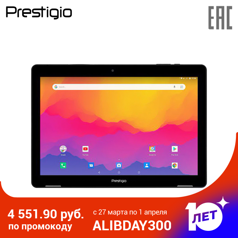Планшет Prestigio WIZE 4311 3G, PMT4311_3G_C_RU, Single Micro-SIM, Have Call Function,10.1
