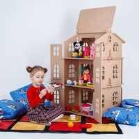 Dom dla lalek dom dla zabawek najlepszy prezent dla dziewczynki domek zabawkowy dla lalek dom dla lalek akcesoria dla lalek blok część puzzle action 000-311