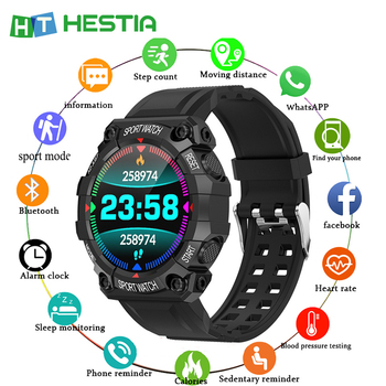 Newest Smart Watch Men Android Sport Waterproof  Bluetooth Pedometer Heart Rate Monitor Smartwatch Lady Fitness Bracelet Watches - discount item  30% OFF Smart Electronics