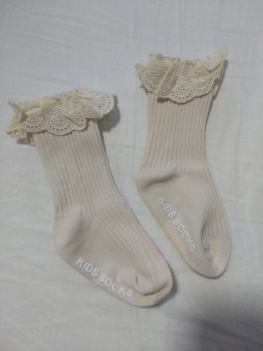 Baby socks New Kids Toddlers Girls Knee High Long Soft Cotton Lace Baby Children Socks Baby Girl socks 0 to 3 years photo review