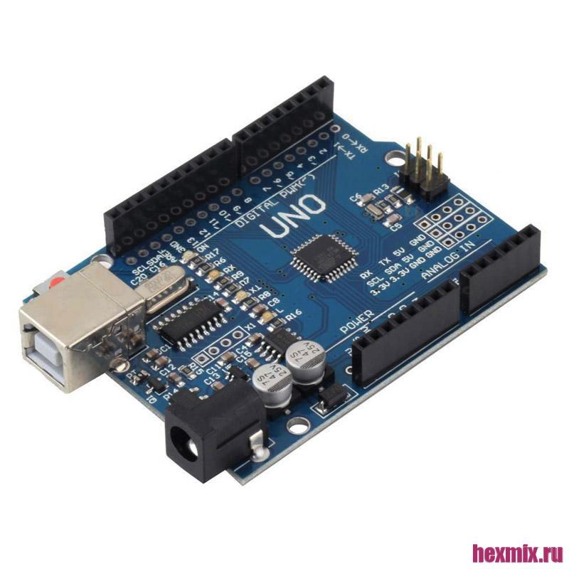 Arduino UNO R3 ATMEGA328 Compatible Board