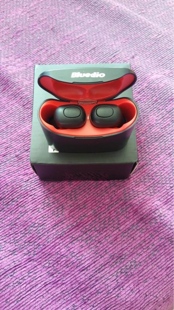 Bluedio T elf mini TWS earbuds Bluetooth 5.0 Sports Headset Wireless Earphone with charging box for phones Phone Earphones & Headphones     - AliExpress