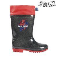 Botas de Agua Infantiles Spiderman Gris Rojo   -