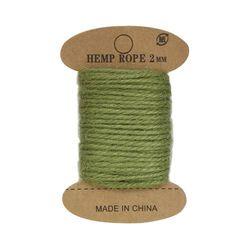 Cuerda de yute, 10 m (verde claro)