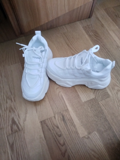 High Platform Sneakers photo review