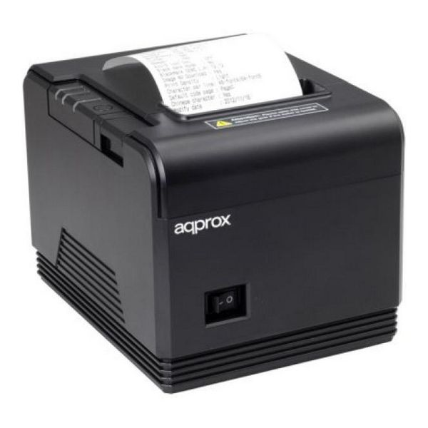 Ticket Printer Approx! AppPOS80AM3 USB/Ethernet Black