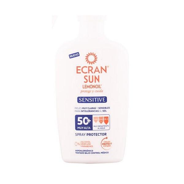 Spray Sonne Schutz Empfindliche Ecran SPF 50 + (300 ml)