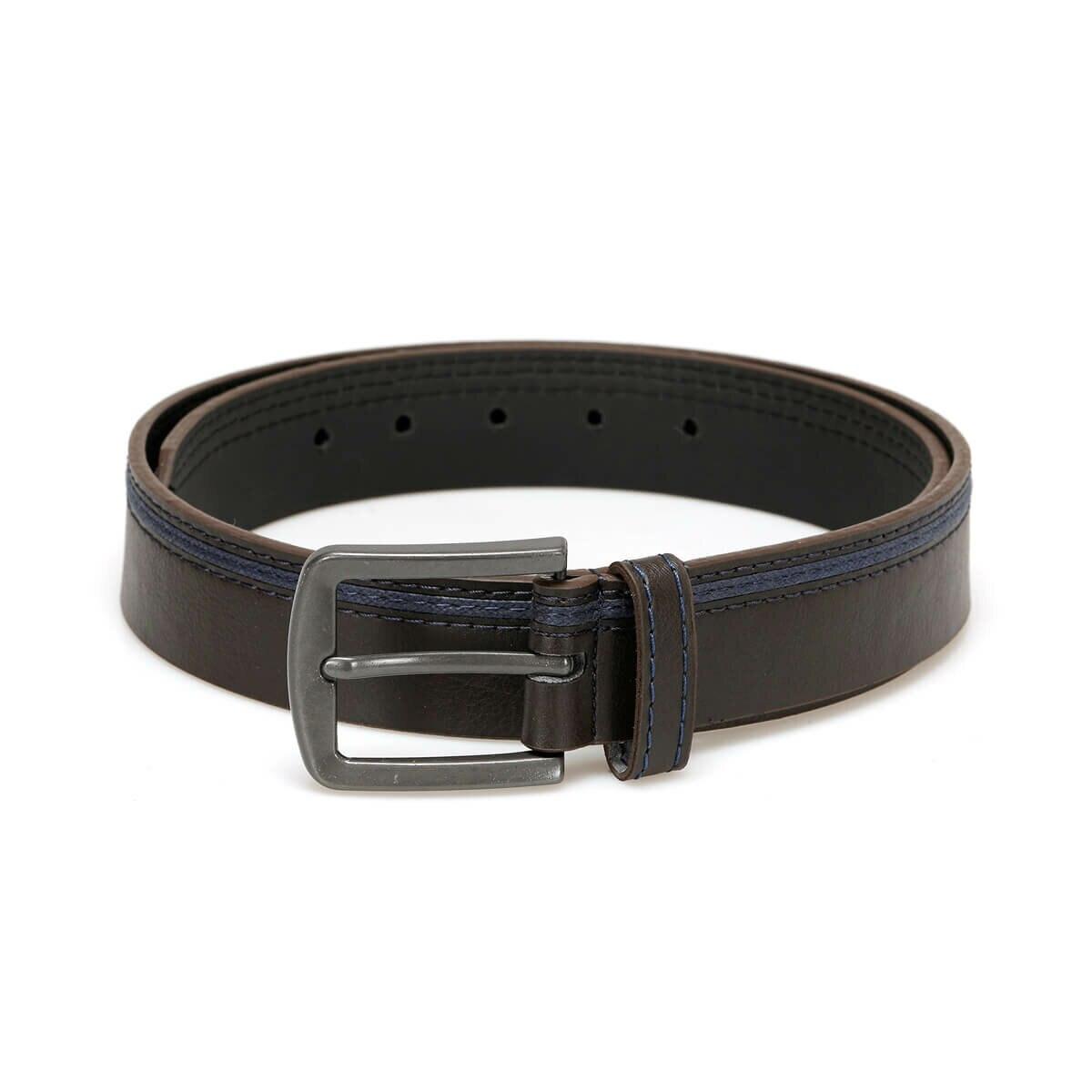 FLO MKNYL3406 Brown Men 'S Belt Garamond