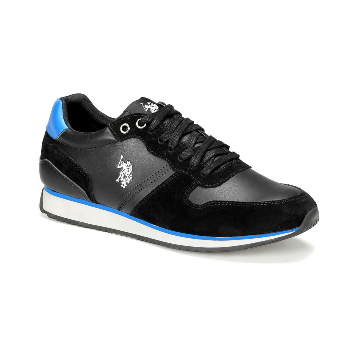 FLO MAC WT 9PR Black Men 'S Sneaker Shoes U.S. POLO ASSN.