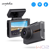 Arpha Dvr W02 OLED Touch Screen Dash Camera WiFi Night Vision HD 1080P 3 150 degree WDR Dashboard Camera